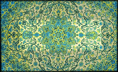 """Alfombras, espacios íntimos que simbolizan templos, árboles de la vida y el conocimiento, astros y paradisos. • <a style=""""font-size:0.8em;"""" href=""""http://www.flickr.com/photos/30735181@N00/32487282751/"""" target=""""_blank"""">View on Flickr</a>"""