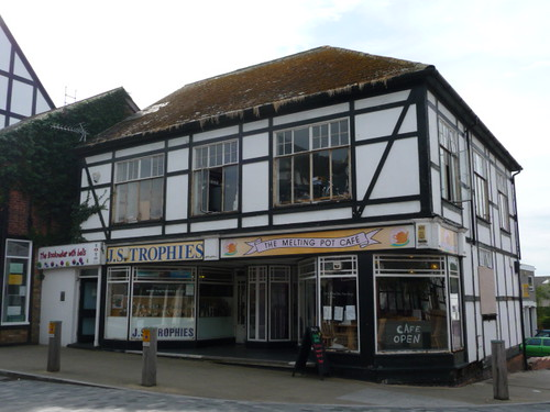 96-102 Witton Street, Northwich - The Melting Pot Café, JS Trophies