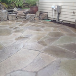 """Stone patio, outdoor patio, Rock patio <a style=""""margin-left:10px; font-size:0.8em;"""" href=""""http://www.flickr.com/photos/117326093@N05/17734035804/"""" target=""""_blank"""">@flickr</a>"""