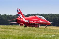 Alpha Jet Red Arrows (Florian Mallet Photo) Tags: plane aircraft military jet meeting airshow mustang redarrows spotting raf dassault rafale alphajet