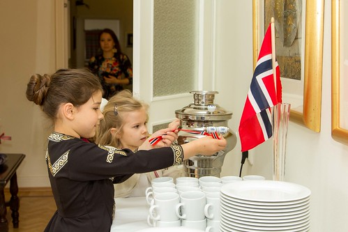 Прием по случаю Дня Конституции Норвегии 17 мая / Norwegian National Day 17 May 2015