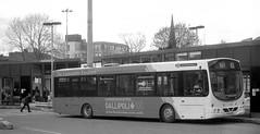 Bury Bus Station - Spring 2015 [PO53OBR] (barbirolli) Tags: urban bus eclipse volvo bury minolta outdoor 400 vehicle wright rosso ilford 204 busstation municipal 154 busstations minoltaxgm fomapan rokkor lc29 xgm ilfotec fomapan400 ilfordilfoteclc29 b7rle 45mmf2 film:iso=400 rossendaletransport po53obr fomafomapan400 rokkor45mmf2 developer:brand=ilford film:brand=foma film:name=fomafomapan400 developer:name=ilfordilfoteclc29 filmdev:recipe=10169