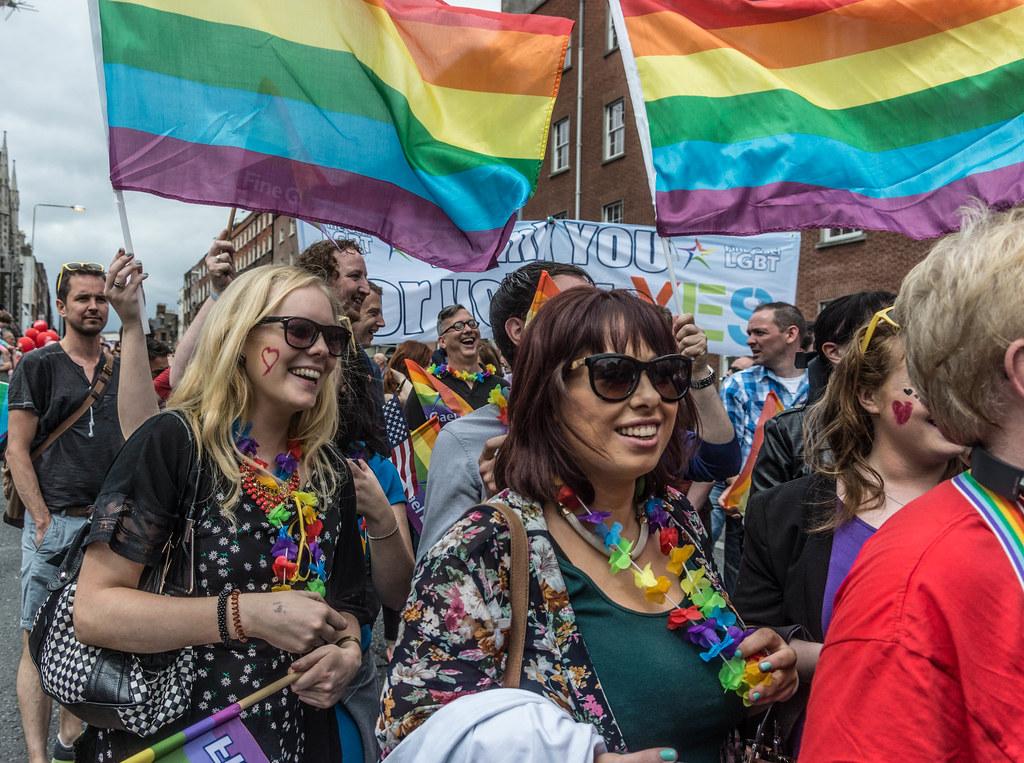 DUBLIN 2015 LGBTQ PRIDE PARADE [THE BIGGEST TO DATE] REF-105950