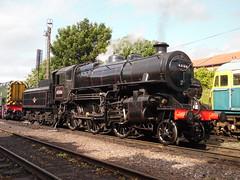 BR 43106 @ Loughborough Central (Sim0nTrains Photos) Tags: br 260 steamlocomotive greatcentralrailway britishrailways gcr theflyingpig 43106 loughboroughcentral ivattclass4 lmsivattclass4 loughboroughtmd