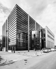 Pottery center (Bless your life) Tags: bw architecture modern blackwhite contemporary modernism poland polska krakow kraków cracow postmodernism architektura postmodernizm