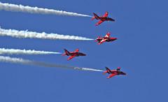 Red Arrows (Hawkeye2011) Tags: uk hawk aircraft aviation military airshow bae redarrows raf riat 2015 royalairforce raffairford