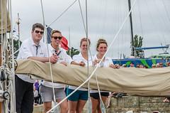 14th July arriving in Paimpol lock (Matchman Devon) Tags: classic lock regatta channel paimpol pazienza