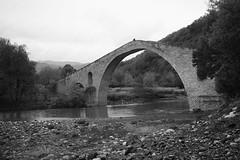Ipiros_Aziz_Aga_old_bridge (spicros78) Tags: oldbridge stones stoned aziz aga grevena witner ipirus ipiros canon canon5dclassic canon17404l bw blackwhite