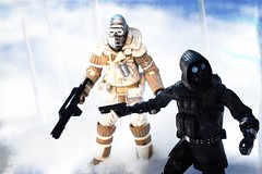 90° 00' S, 0° 00' (TaglessKaiju) Tags: weyland yutani alien neca action figure outdoor toy photography snow winter cold collection outside vector resident evil soldiers commando longitude latitude lost