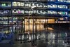 And I wonder yes I wonder who'll stop the rain (mvj photography) Tags: uk london londres canarywharf pluie rain architecture streetphotography photoderue