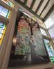 Banksy's Stained Glass Window (chris watkins wales) Tags: banksy stained glass window moco amsterdam graffiti mueseum art boy praying prays