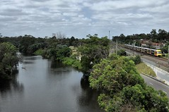 Georges River and the Main South (highplains68) Tags: aus australia newsouthwales nsw sydney trains waratah georges river