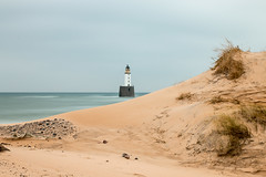 Rattray Head, Aberdeenshire (johnawatson) Tags: rattrayhead aberdeenshire northsea lighthouse slowexposure ef35mmf2 canon70d eos