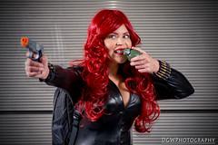 Black Widow (dgwphotography) Tags: cosplay nycc nycc2016 newyorkcomiccon 70200mmf28gvrii nikond600 nikoncls portrait marvel marvelcomics