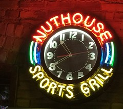nuthouse neon (danbruell) Tags: sign neon nuthouse olds car factory sports lansingmi michigan michiganave