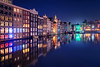 Windows (Raúl Podadera Sanz) Tags: windoes ventanas color colors blue azul bluehour horaazul holanda holland reflejos reflection agua water canal chanel travel viaje amsterdam bullding city ciudad architecture arquitectura
