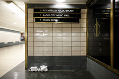 New Years Still Life at Rockefeller Center, 2016 (Jack Toolin) Tags: newyork cities subway urban stilllife party newyears antihero banality jacktoolin