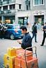 「 Film 」Delivery. (Skyeluke) Tags: 廣州 ektar500 kodak 柯達 菲林 膠片 佳能 50mm streetphotography eos55 canon film china guangzhou