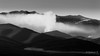 Foggy Mountains 02 (Milen Mladenov) Tags: 2017 bw blackandwhite d3200 landscape montana nikon day fog haze hill hills mountains myst nature outdoor outside peaks snow tops view walk