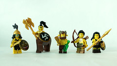 A Satysfying Figbarf (11inthewoods) Tags: lego barbarian greek mythology figbarf minifig minifigures satyr demigod