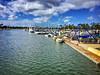 Waikiki Yacht Club (jcc55883) Tags: hawaii oahu waikiki alamoanaarea alamoanaboulevard alawaicanal waikikiyachtclub sky clouds ocean pacificocean ipad ipadair