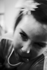 Childish (Matthew Crake) Tags: family portriat motionblur childish blackandwhite kid