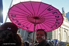 Respect All People (Trish Mayo) Tags: umbrella parasol pink marcher womensmarchnewyork womensmarch