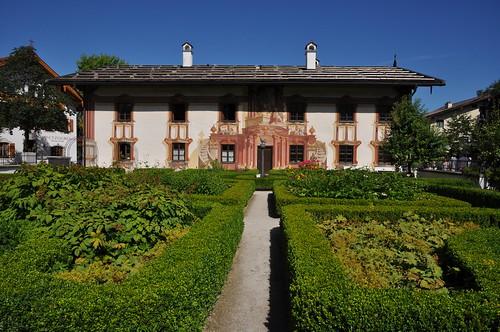 Oberammergau (Alemania). Casa de Pilatos