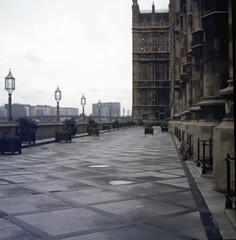 House of Commons London  about 1972 (foundin_a_attic) Tags: london uk england westminster thepalaceofwestminsteristhemeetingplaceofthehouseofcommonsandthehouseoflords thetwohousesoftheparliamentoftheunitedkingdom sw1a 0aa
