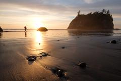Exploring Washington coast [Explored] (Sunny Herzinger) Tags: rock fujixpro2 beach washington sunset travel xf14mmf28 america coast usa unitedstates us