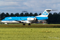 KLM Cityhopper Fokker 70  |  PH-KZA  |  Amsterdam Schiphol - EHAM (Melvin Debono) Tags: klm cityhopper fokker 70 | phkza amsterdam schiphol eham melvin debono spotting canon 7d 600d plane planes polderbaan airport airplane aviation aircraft netherlands holland