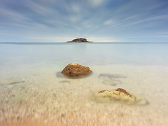 L´Olla de Altea (Explore 7-02-2017) (Txeny4) Tags: altea largaexposicion playa arena mar transparencias isla canon atardecer filtros nisi lucroit haida txeny4 1022