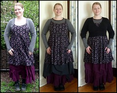 Spring and winter versions, dress + skirt (M lambie) Tags: wardrobe wardrobeplan garments