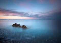 The Big Blue (Gareth Mon Jones) Tags: longexposure seascape sunset wales anglesey pastel