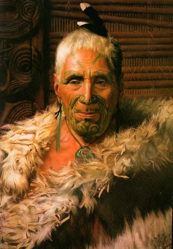 maori face tattoo. moko or facial tattoo#39;s