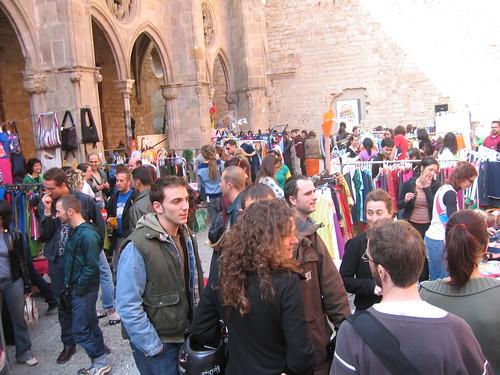 Mercados de pulgas de Barcelona