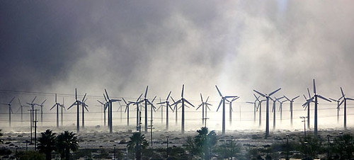 Windmills In Dust (1) (by Ron's Log)