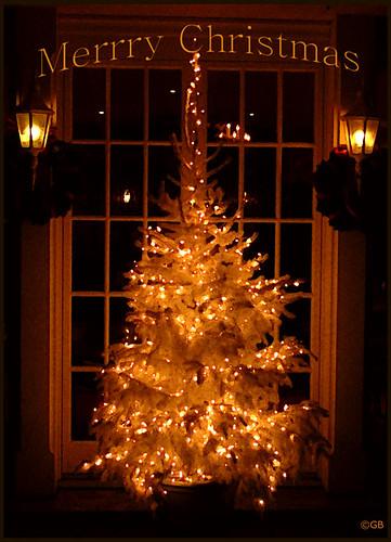 Weihnachtsbaum Merry Christmas
