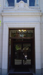 First Northern Winters, CA (Seth Gaines) Tags: winters california bank doorway