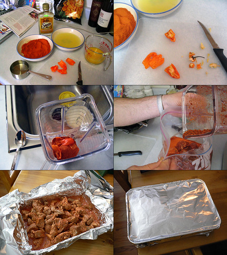 Making Puerco Pibil