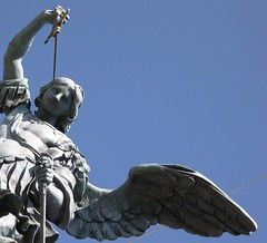 Avenging Angel (frielp) Tags: rome statue angel wing castlestangelo