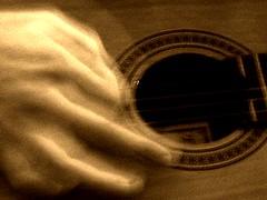 Ghost Hand Playing (joaobambu) Tags: 2005 sepia interestingness interesting topv333 hand guitar edited daniel ghost guitarra jamming jammin strumming favorited doctorstrange jan1