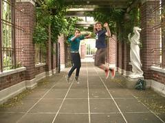 everybody jump! jump! (darren131) Tags: auckland newzealand domain wintergarden teen steven