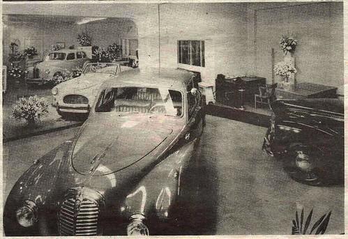 Austin Dealer in Toronto, 1951