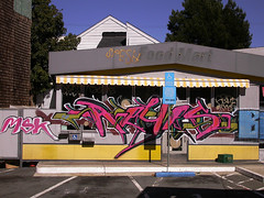 Food Mart Reyes (Tomas) Tags: california graffiti foodmart mission reyes sanfrancisco