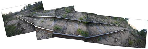 Railway Track Panorama
