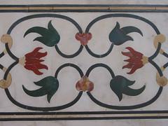 Taj Mahal, detail