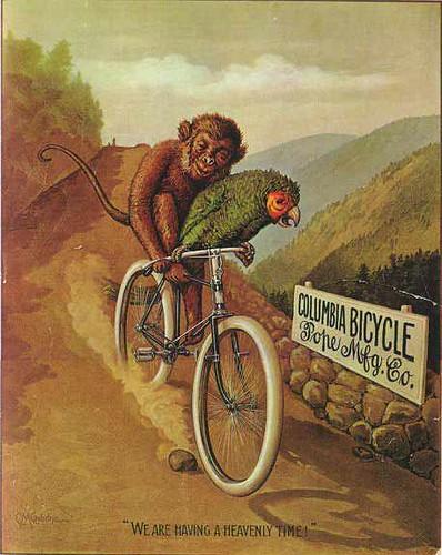 1895 Columbia Bicycle Ad