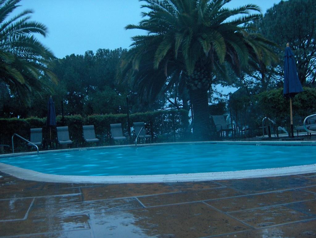 the pool at Auberge Del Mar