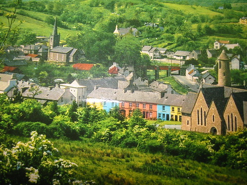 Old Donegal Town Postcard
